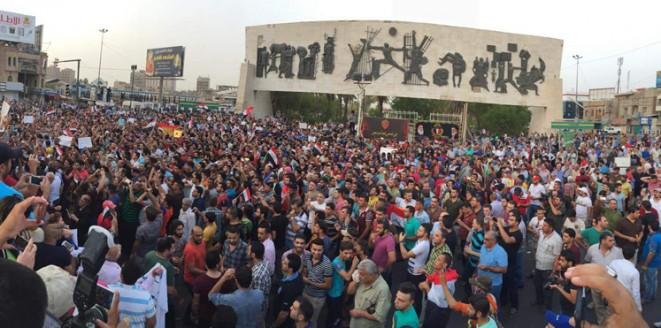 احتجاجات ضد الفساد في العراق