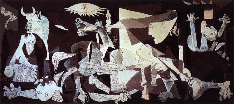لوحة جرينيكا لبيكاسو