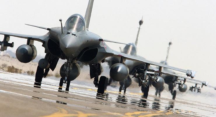 طائرات فرنسية تستعد لمهاجمة مواقع سورية
