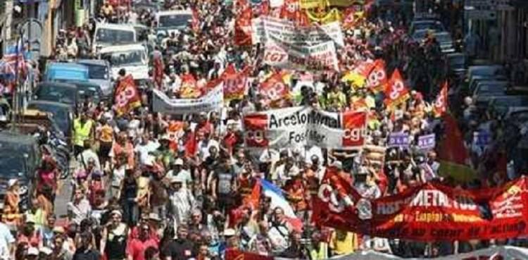 فرنسا: مظاهرات ضخمة ضد قانون التقاعد الجديد