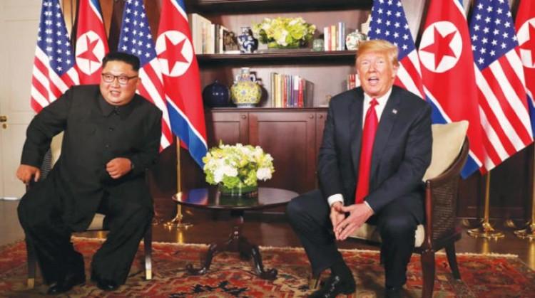 قمة ترامب وكيم - موقع