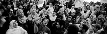 متظاهرون في ميدان التحرير - 2012