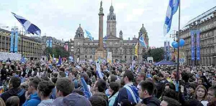 مظاهرات في اسكتلندا