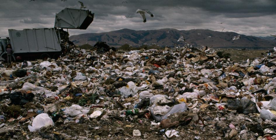نفايات البلاستيك