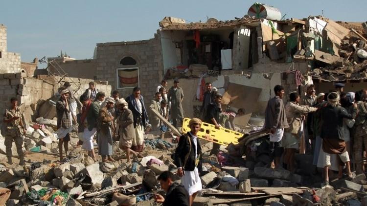 دمار هائل في اليمن إثر القصف السعودي
