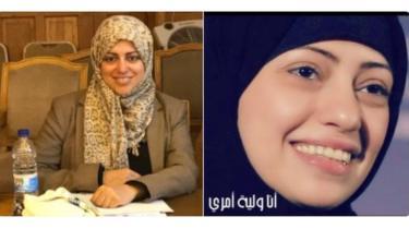 سمر بدوي ونسيمة السادة، من ناشطات حقوق النساء المعتقلات مؤخرًا في السعودية