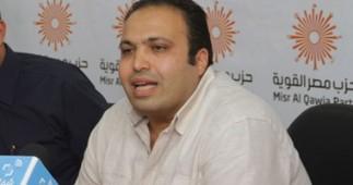 الناشط السياسي المُعتقل محمد القصّاص, نائب رئيس حزب مصر القوية.