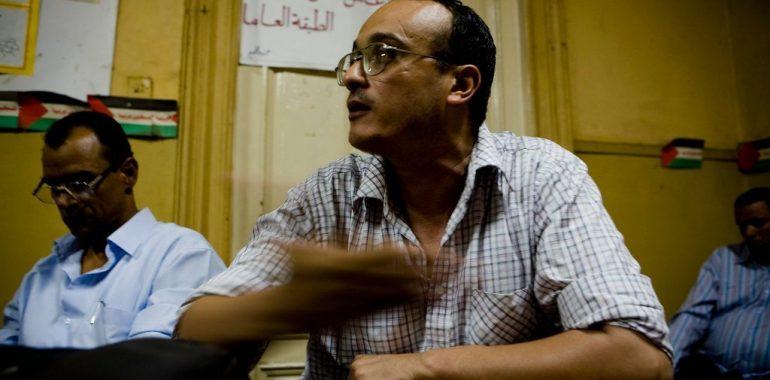 رسالة الرفيق هشام فؤاد من محبسه لإعلان إضرابه عن الطعام
