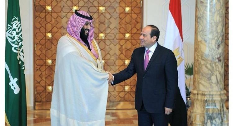 السيسي يستقبل ابن سلمان في مصر