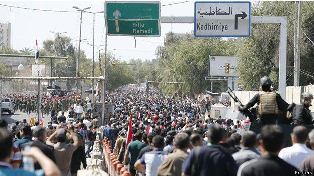 احتجاجات عراقية ضد الفساد - مارس الماضي