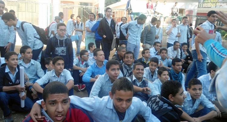 طلاب مدارس أسيوط