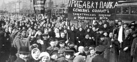 صورة من الثورة الروسية