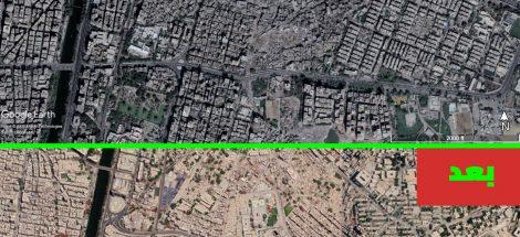 منطقة المدابغ بمصر القديمة قبل وبعد الإزالات