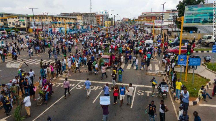 احتجاجات نيجيريا