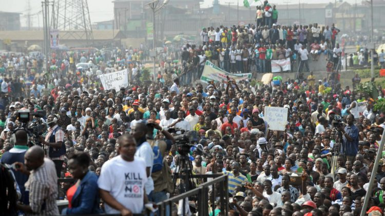 احتجاجات نيجيرية ضد عنف وفساد الشرطة
