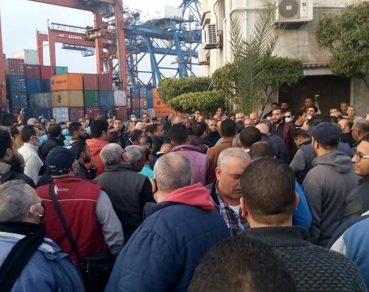 الإسكندرية لتداول الحاويات