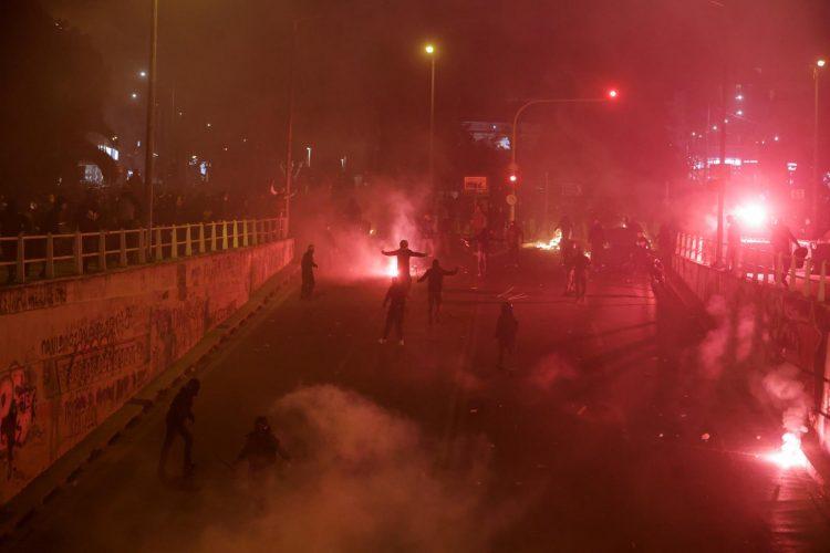 احتجاجات اليونان - مارس 2021