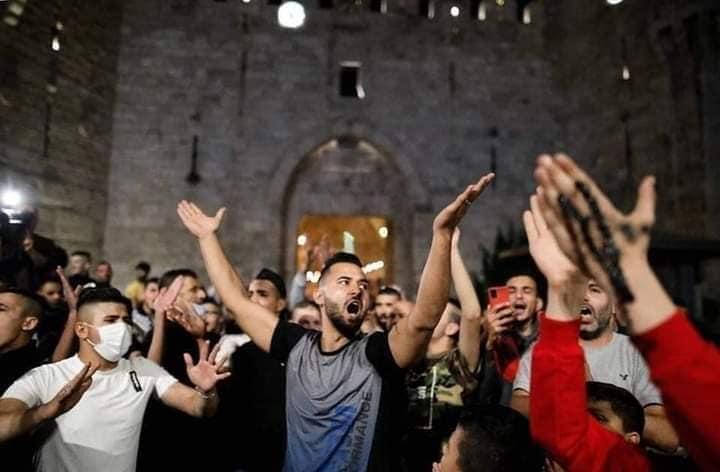 مظاهرات في الضفة وغزة - أبريل 2021