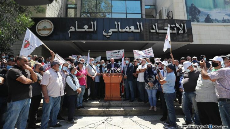 إضرابات لبنان - مايو 2021