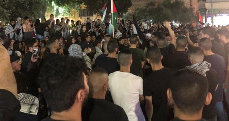 مظاهرات الداخل الفلسطيني