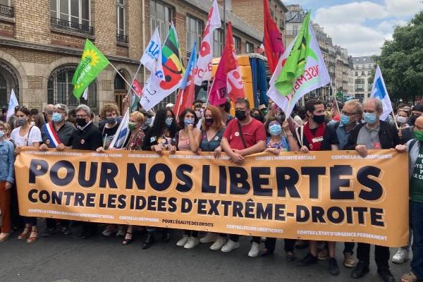 مظاهرات فرنسا - يونيو 2021