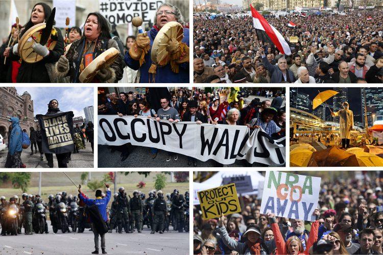 احتجاجات عالمية