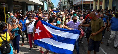 احتجاجات كوبا - يوليو 2021