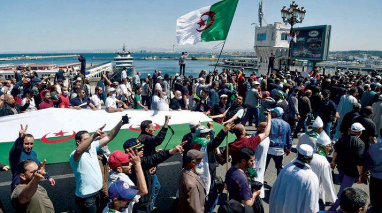 احتجاجات الجزائر - يوليو 2021