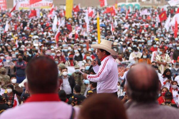 بيدرو كاستيّو - رئيس بيرو - 2021