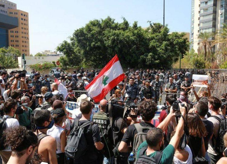 لبنان - احتجاجات الوقود - أغسطس 2021
