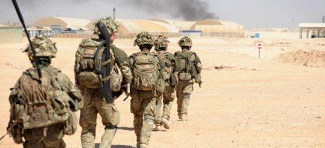 قوات أمريكية تنسحب من أفغانستان