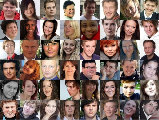 صور لمجموعة من ضحايا حادث جزيرة أوتويا  - بى بى سي