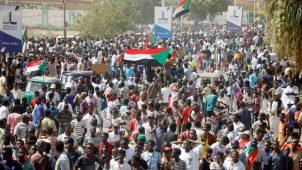 مظاهرات سودانية رافضة للحكم العسكري - 21 أكتوبر 2021