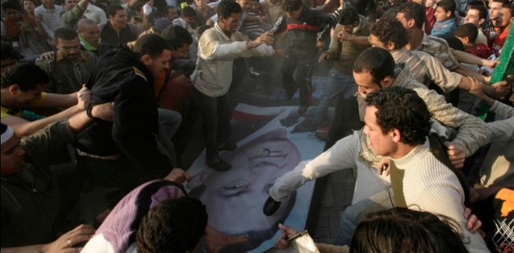 انتفاضة 6 ابريل 2008 بالمحلة