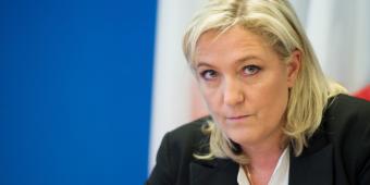 مارين لوبان - زعمية حزب الجبهة الوطنية اليمين المتطرف في فرنسا