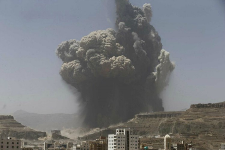 الهجوم الجوي على اليمن
