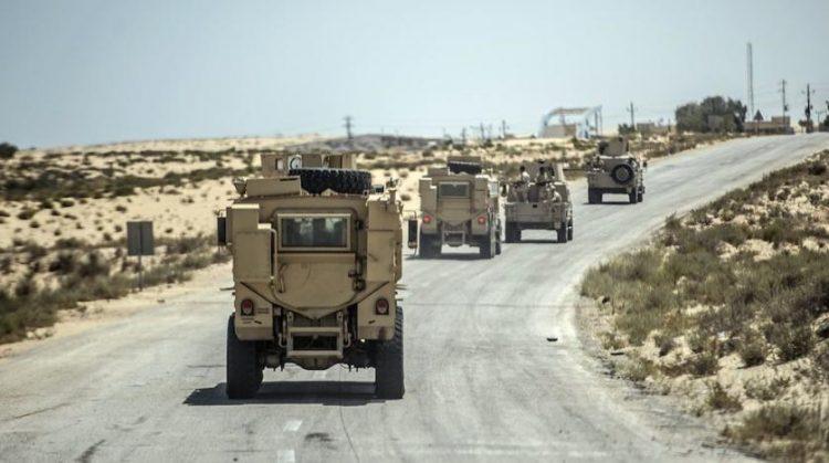 مُدرَّعات للجيش المصري في سيناء - صورة أرشيفية