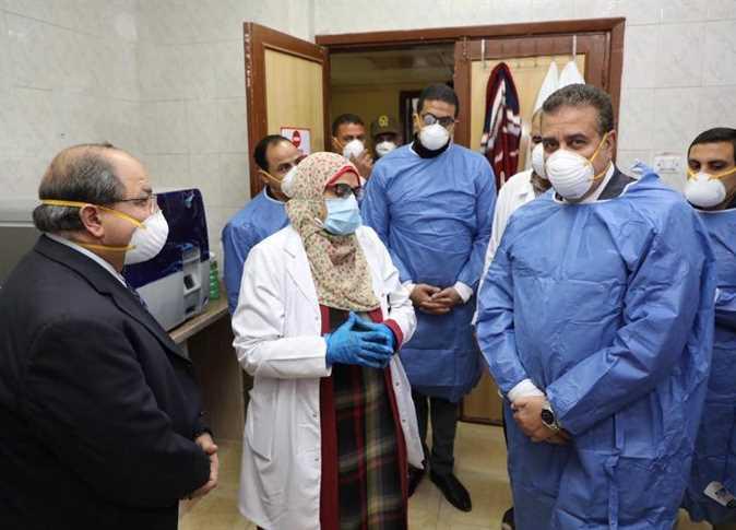 مستشفى مصر كورونا