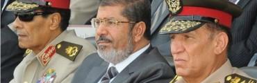مرسي وطنطاوي وعنان