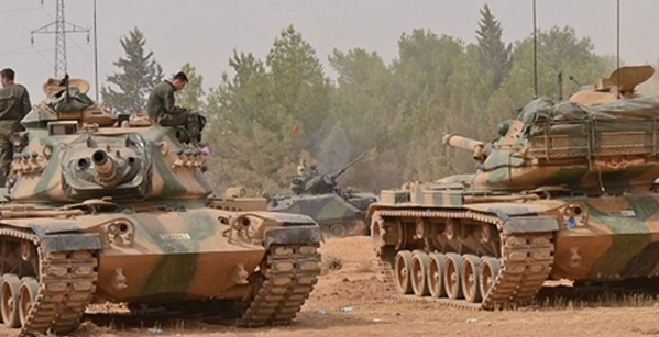 دبابات تركية بدعم أمريكي في سوريا